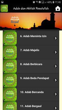 Adab dan Akhlak Rosulullah screenshot 2