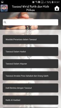 Tawasul Wirid Ratib dan Hizib Pilihan screenshot 1