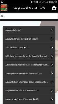 Tanya Jawab Sholat - UAS screenshot 1