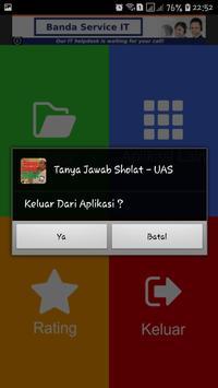 Tanya Jawab Sholat - UAS screenshot 5