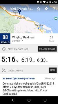 Nanaimo RDN Transit System Bus - MonTransit screenshot 1