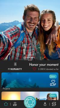 myhumanity - Honor your moment screenshot 2