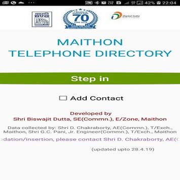 Maithon Directory poster
