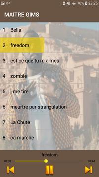 Maitre Gims 2019 -sans internet- poster