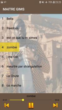 Maitre Gims 2019 -sans internet- screenshot 1