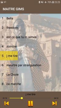 Maitre Gims 2019 -sans internet- screenshot 2