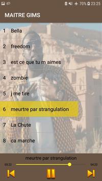 Maitre Gims 2019 -sans internet- screenshot 3