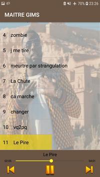 Maitre Gims 2019 -sans internet- screenshot 4