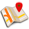 Map of Morocco offline icon