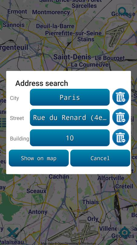 Map Of Paris Offline For Android Apk Download