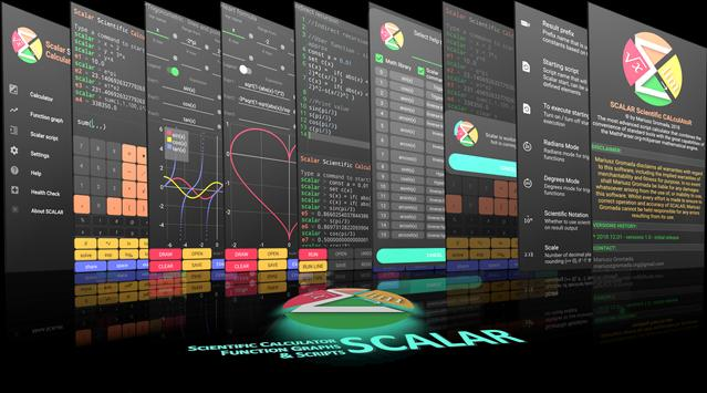 Scalar — Calculadora científica más avanzada captura de pantalla 4