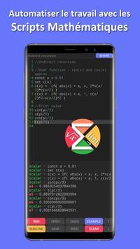 Scalar — calculatrice scientifique la plus avancée capture d'écran 1