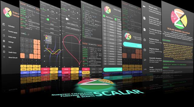 Scalar — calculatrice scientifique la plus avancée capture d'écran 4