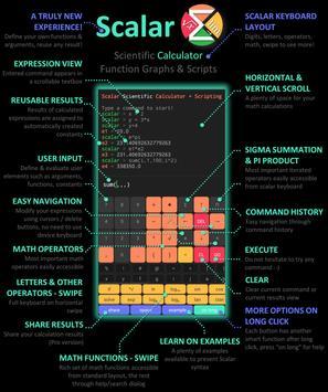 Scalar — calculatrice scientifique la plus avancée capture d'écran 5