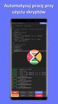 Skalar — wysoce zaawansowany kalkulator naukowy screenshot 17