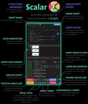 Scalar — En gelişmiş bilimsel hesap makinesi Ekran Görüntüsü 7