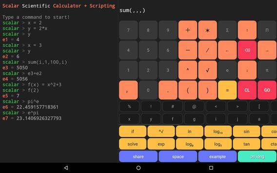 Scalar Pro — Most Advanced Scientific Calculator 截圖 8