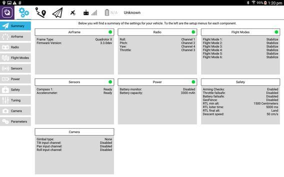 QGroundControl screenshot 8