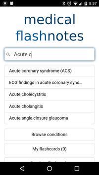 Medical FlashNotes screenshot 1