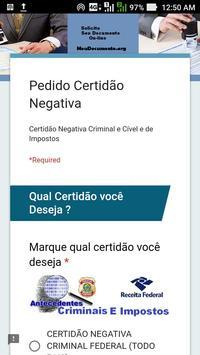 MeuDocumento.org - Certidão Original Oficial screenshot 3