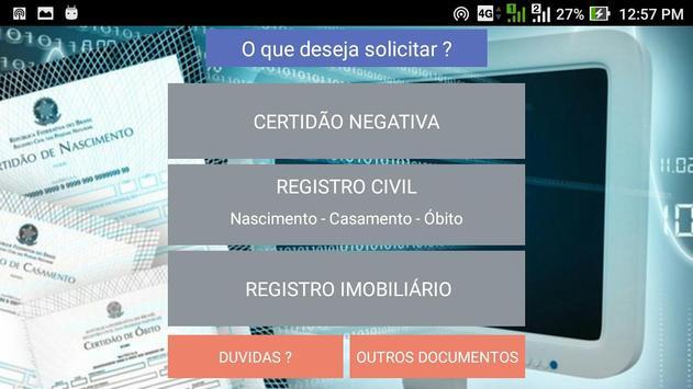 MeuDocumento.org - Certidão Original Oficial screenshot 1