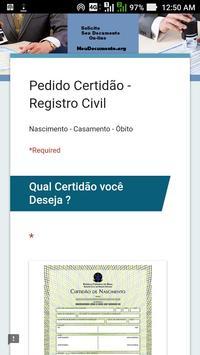 MeuDocumento.org - Certidão Original Oficial screenshot 2