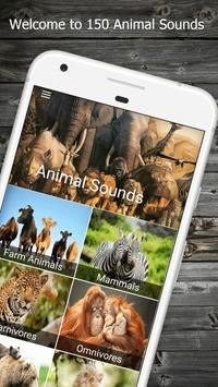 150 Animal Sounds poster