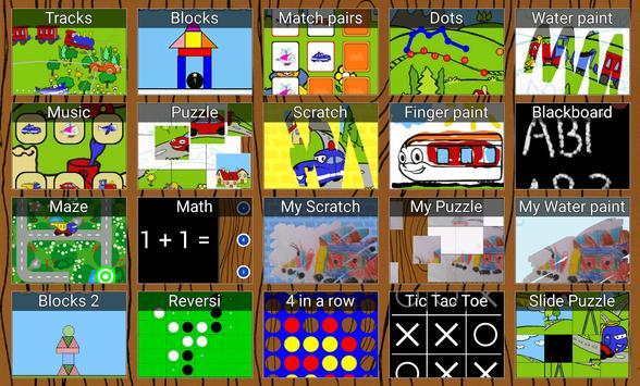 Trens, jogos para crianças imagem de tela 8