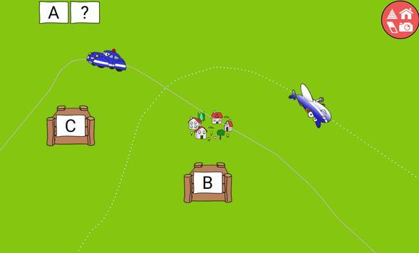 9 Schermata Trains, cars & planes for kids