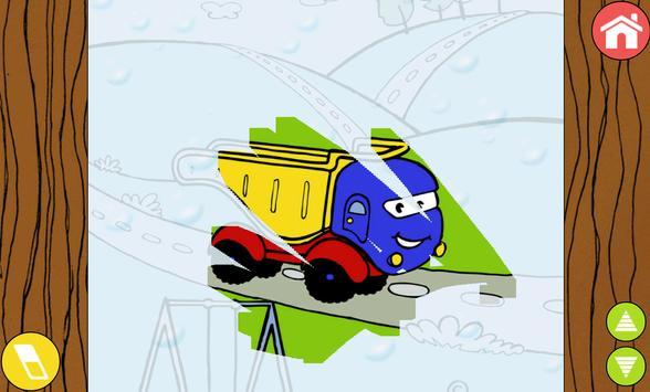 11 Schermata Trains, cars & planes for kids