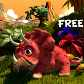 Kids Dinosaur Games Free icon