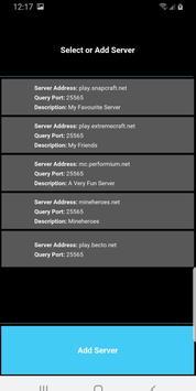 Server Status for Minecraft poster
