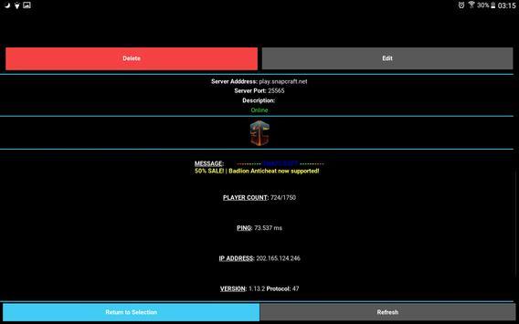 Server Status for Minecraft screenshot 11