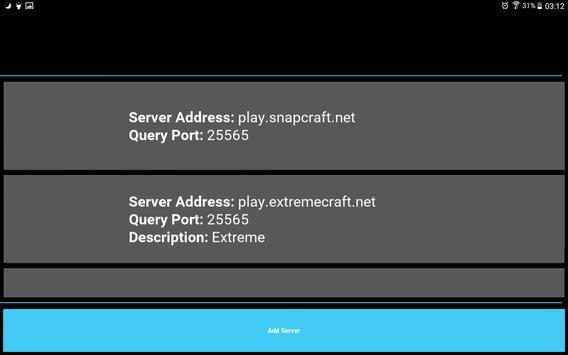 Server Status for Minecraft screenshot 12