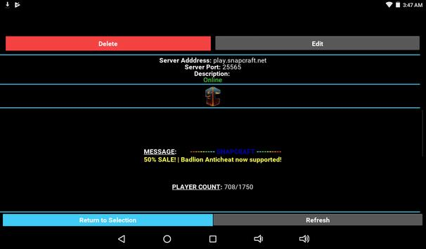 Server Status for Minecraft screenshot 17