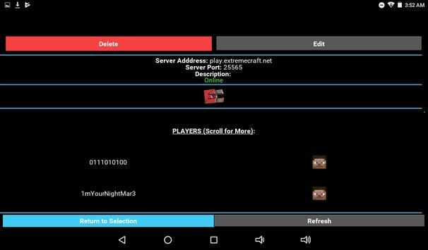 Server Status for Minecraft screenshot 18