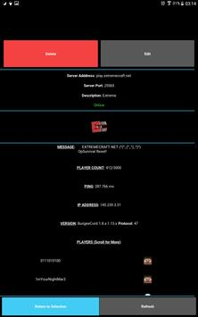 Server Status for Minecraft screenshot 8