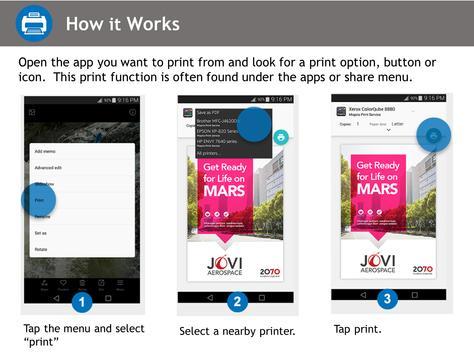 Mopria Print Service screenshot 1