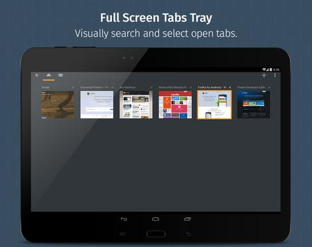 Firefox for Android Beta screenshot 8