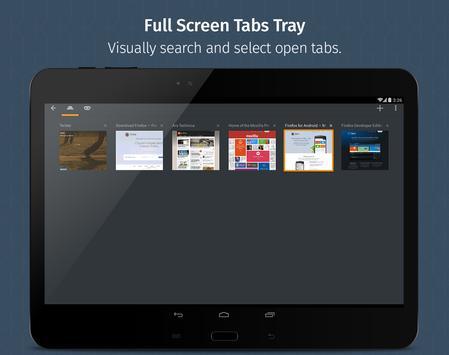 Firefox untuk Android Beta screenshot 8