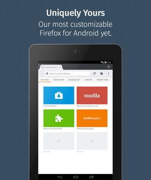 Firefox untuk Android Beta screenshot 9