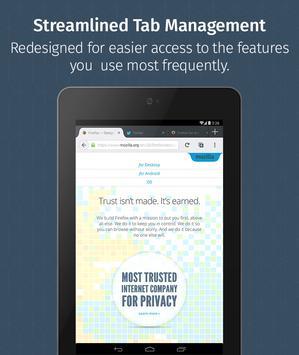 Firefox untuk Android Beta screenshot 11