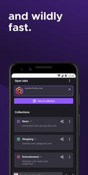 Firefox voor Android Beta screenshot 1