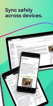 Trình duyệt Firefox: nhanh chóng & riêng tư ảnh chụp màn hình 5