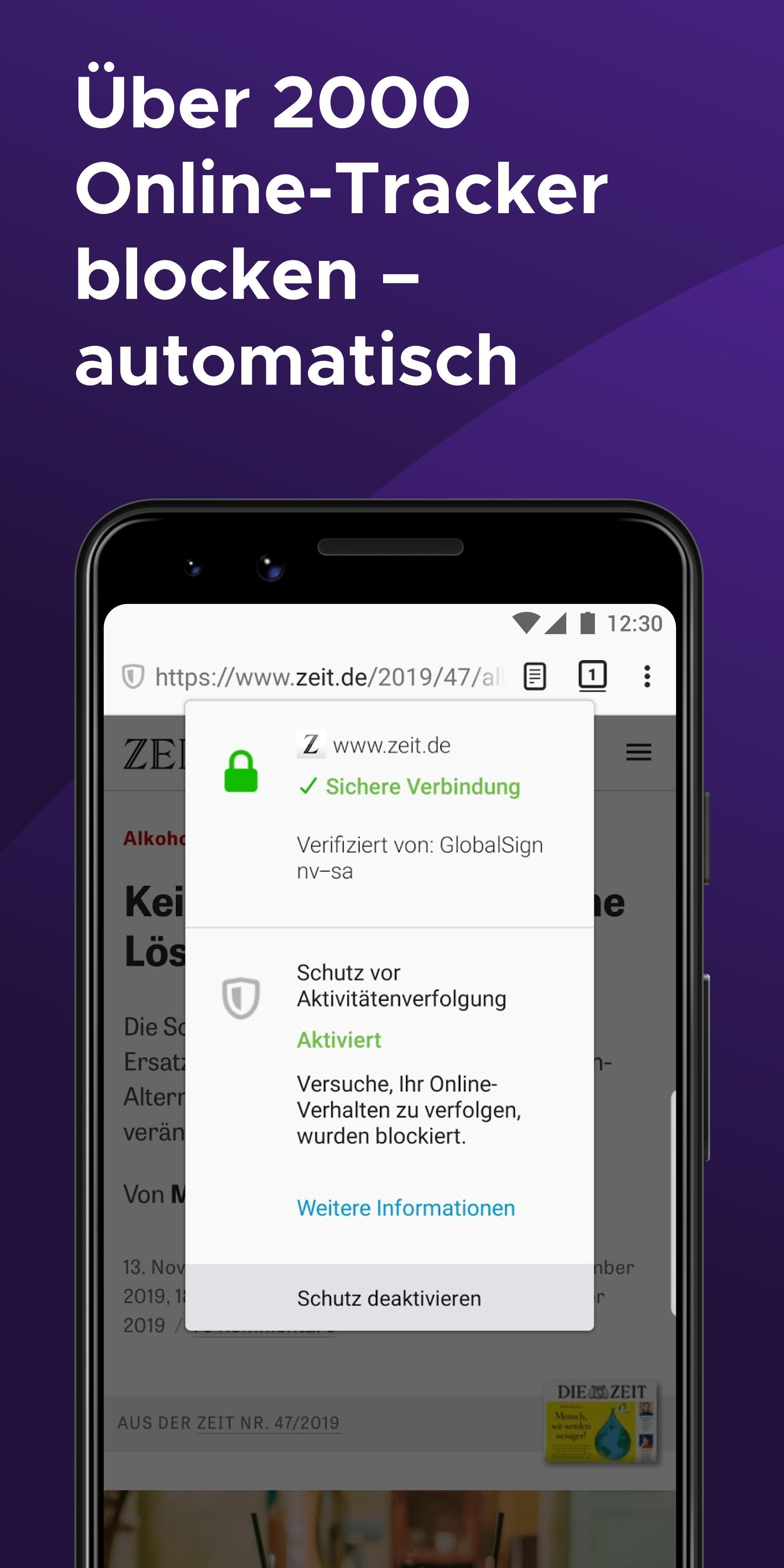 Firefox Startseite Android