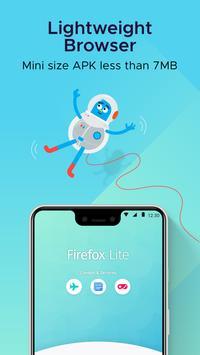 Firefox Lite screenshot 1