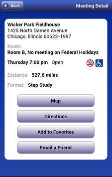 NA Meeting Search 3.6.1 Ekran Görüntüsü 9