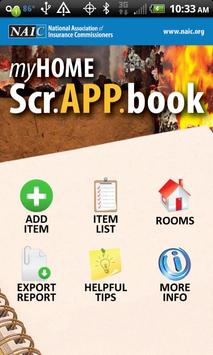 MyHOME Scr.APP.book poster
