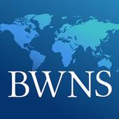Bahá'í World News Service (BWNS) icon