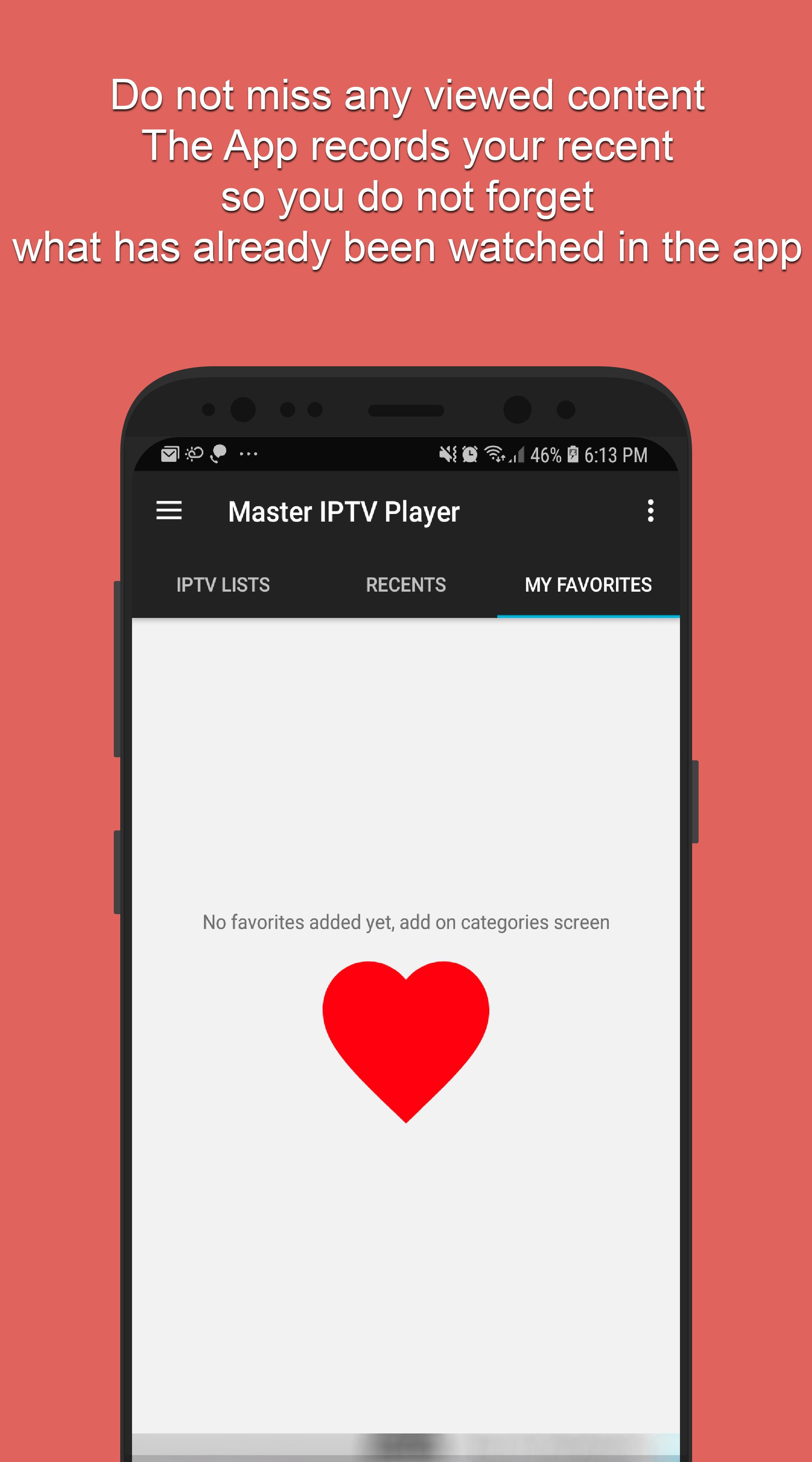 Master IPTV Player: TV, Filmes, Séries, Futebol para Android